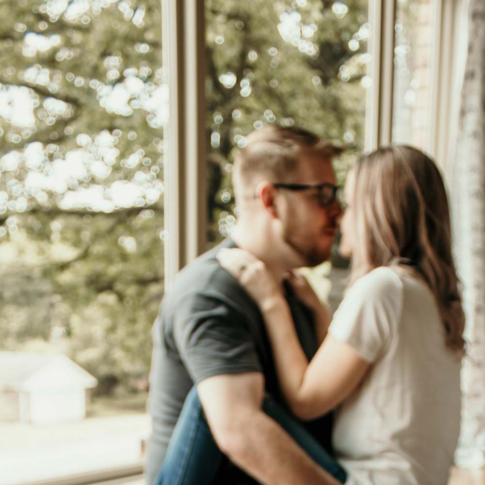 Couples connecting for sex coaching and intimacy coaching